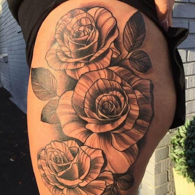 Beautiful Hip Tattoo