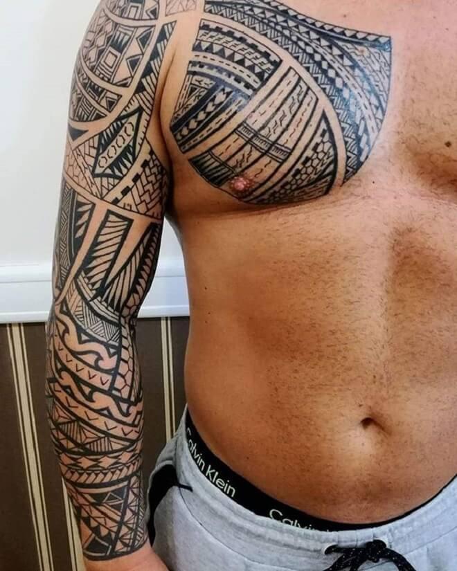 Beautiful Maori Tattoo