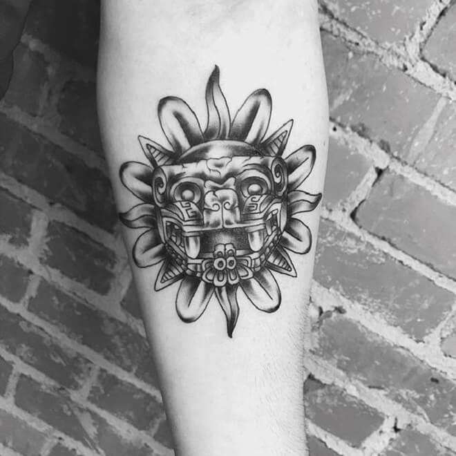 Best Aztec Tattoo