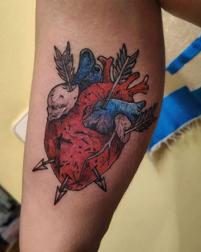Best Heart Tattoo