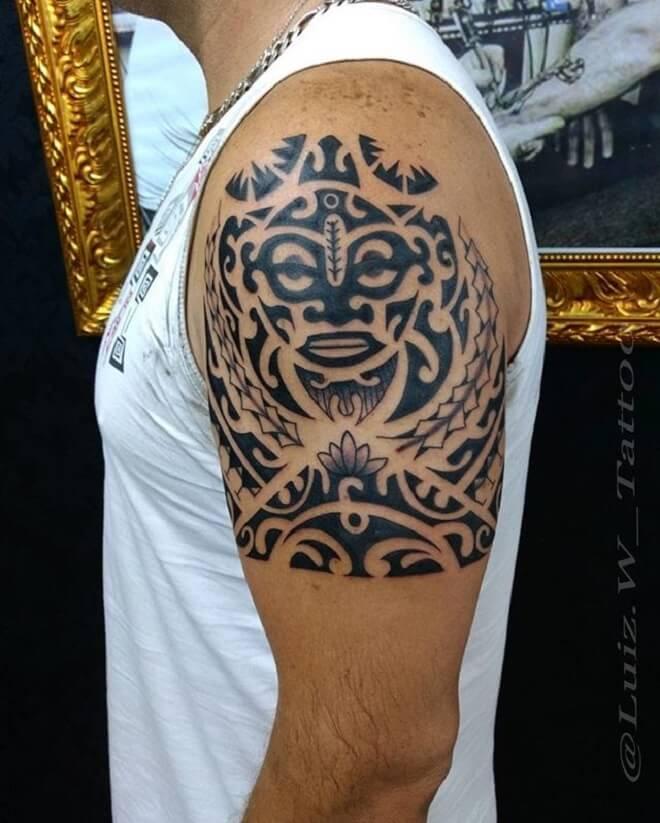 Best Maori Tattoo