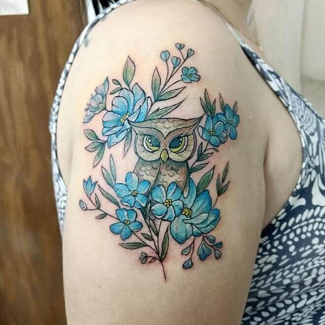 Best Owl Tattoo