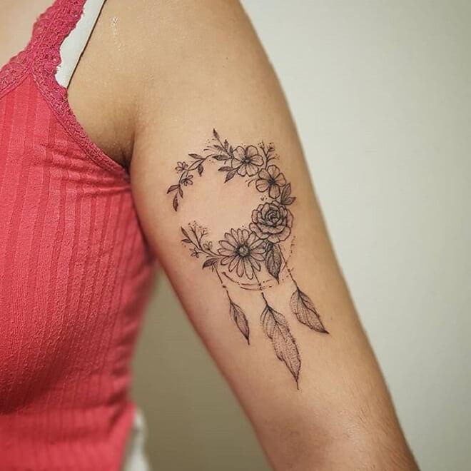 Black Tattoo for Girl