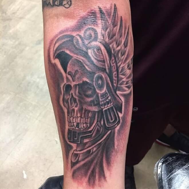 fe4181beb Top 30 Aztec Tattoos | Beautiful Aztec Tattoo Designs & Ideas