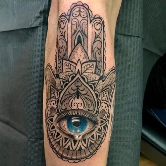 Blue Eye Tattoo