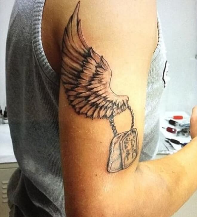 Body Angel Tattoo