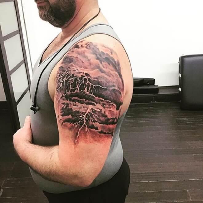 Body Cloud Tattoo