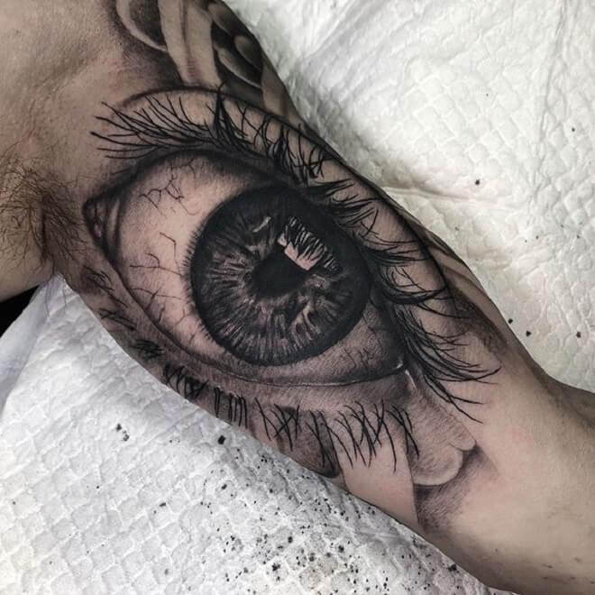 Body Eye Tattoos