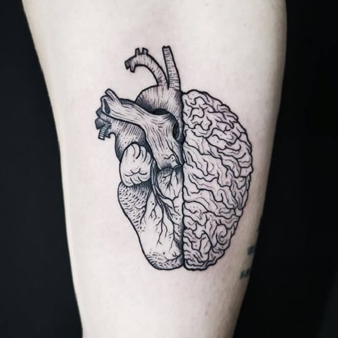 Body Heart Tattoo