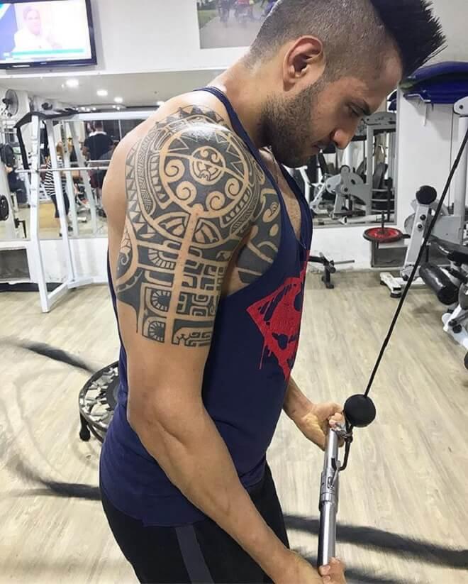 Body Maori Tattoo