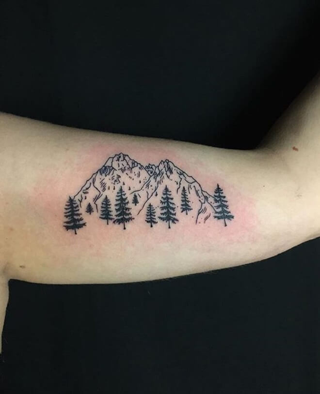 Top 30 Mountain Tattoos Stunning Mountain Tattoo Designs Ideas