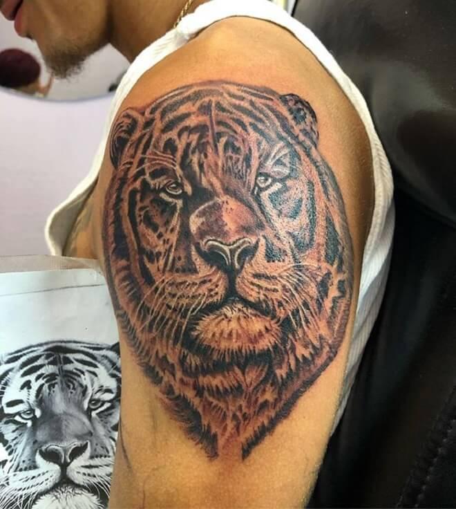 Body Tiger Tattoo
