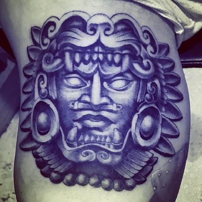 Chicano Aztec Tattoo
