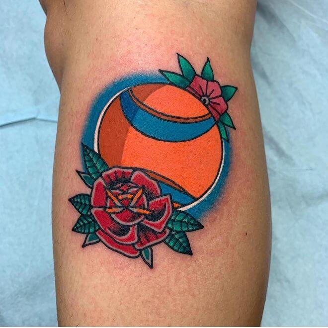 Chuckit Ball Archive Tattoo