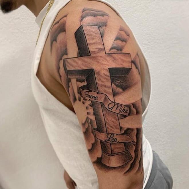 Cross Cloud Tattoo