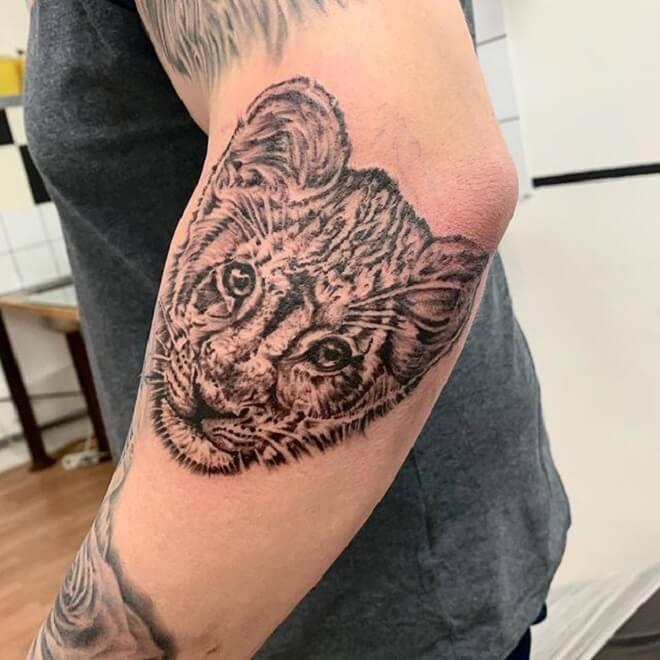Cute Tiger Tattoo Designs