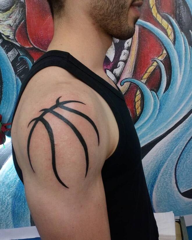 Dark Line Sport Tattoo