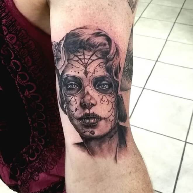 Day of the Girl Tattoo