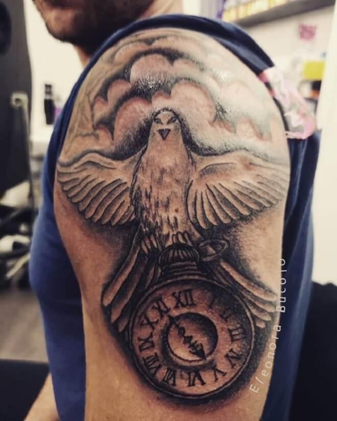 Dove Tattoo Style