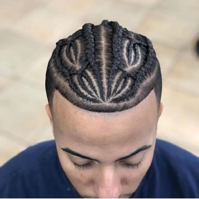 Dragon Hair Style Tattoo