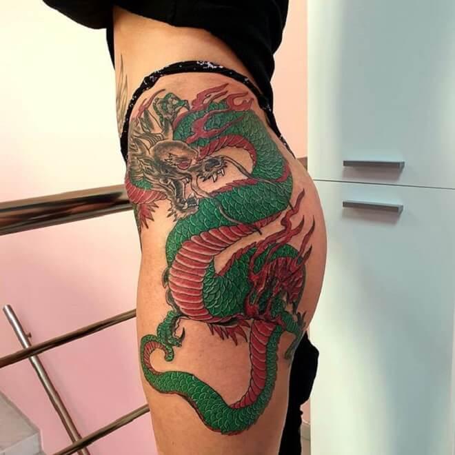 Dragon Tattoo Artist