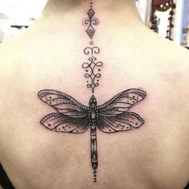 Dragonfly Fancy Tattoo