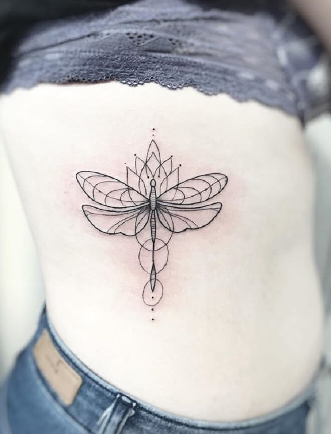 Dragonfly Tattoo for Women