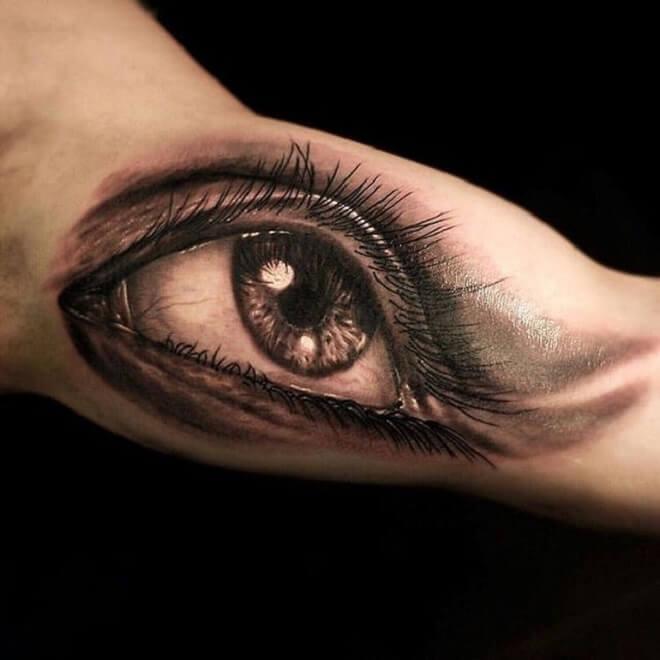 Emotional Eye Tattoo