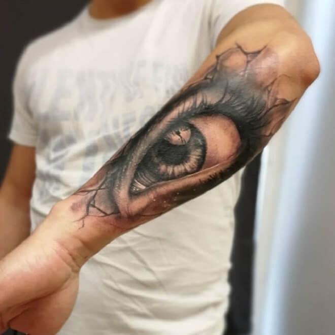 Eye Tattoo for Men