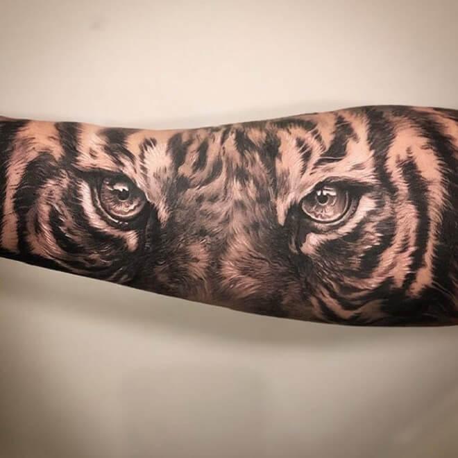 Eye Tiger Tattoo