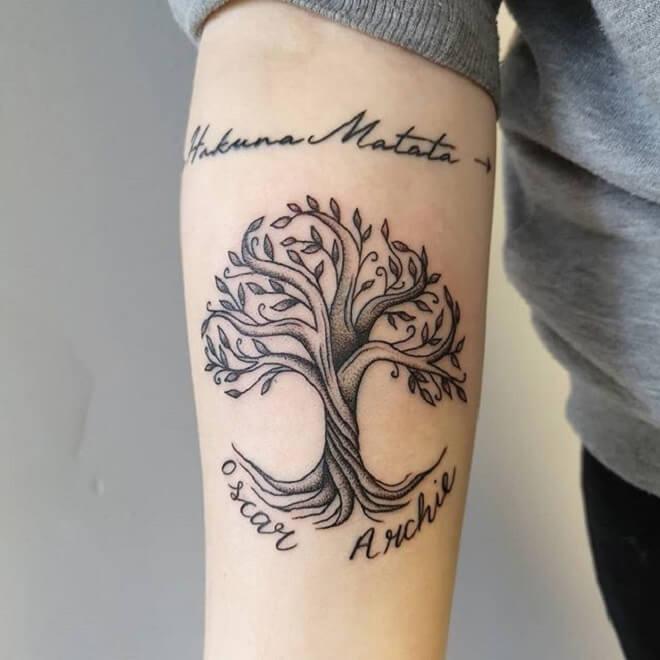 Family Tree Tattoo