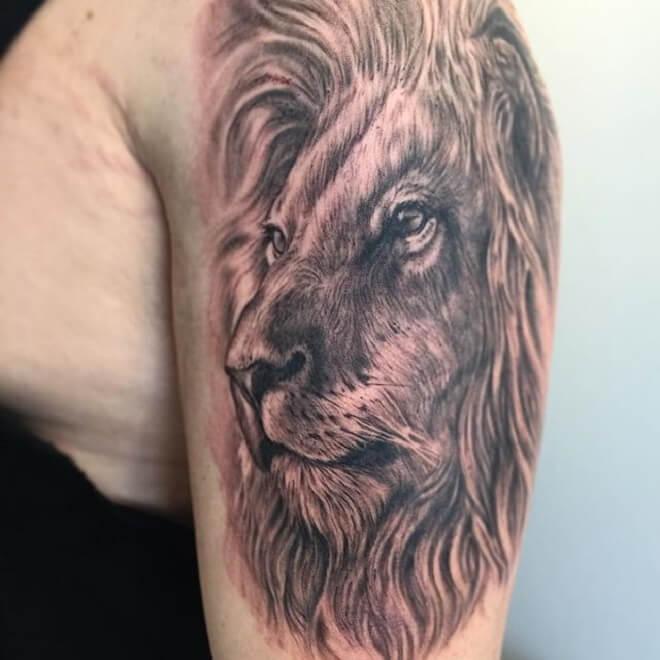 Finest Lion Tattoo Designs