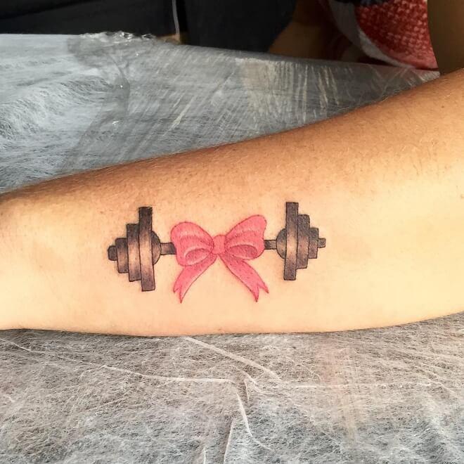 Fitness Sport Tattoo