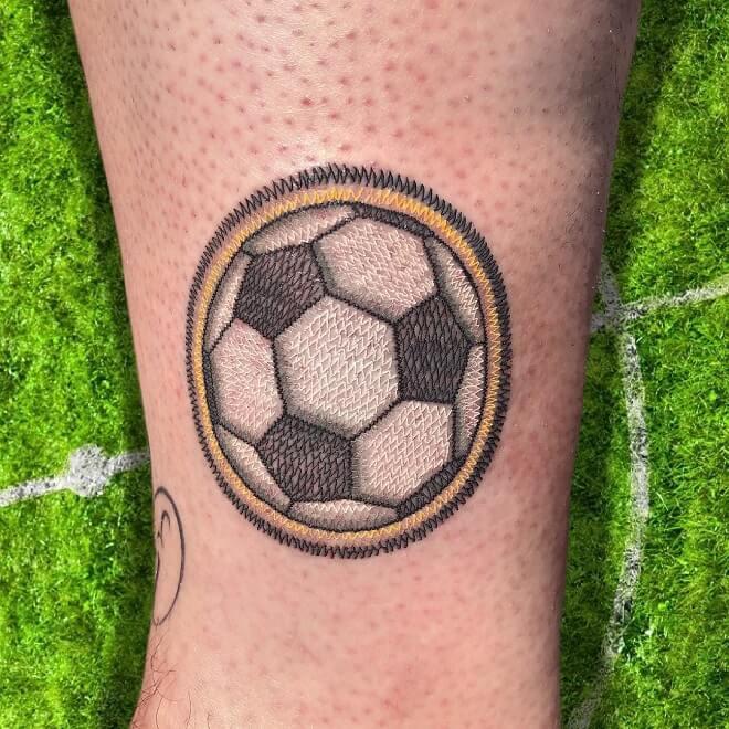 Football Sport Tattoo