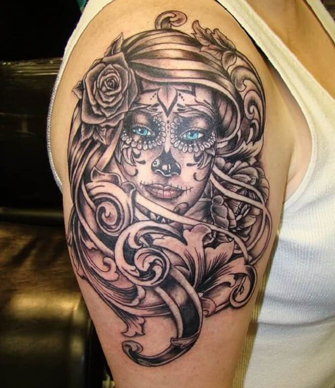 Girl Dead Tattoo