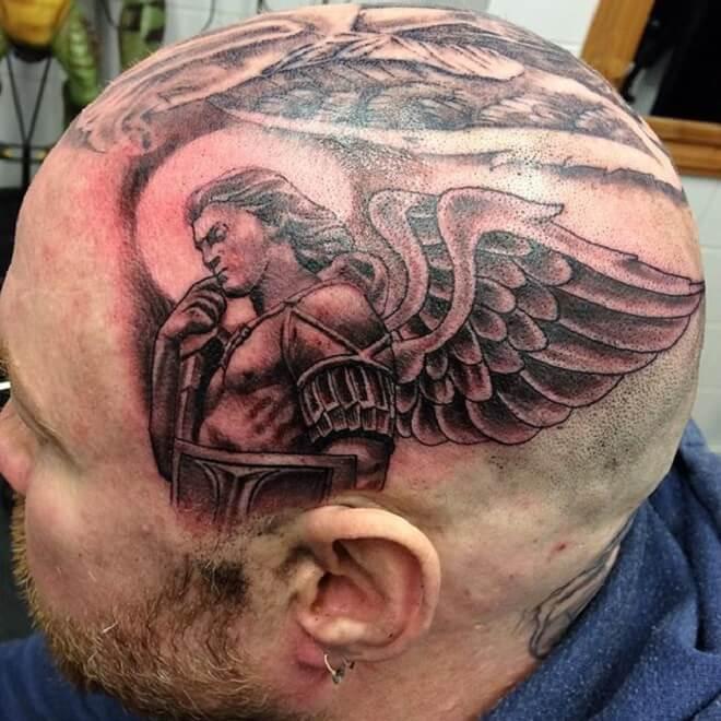 Head Michael Tattoo
