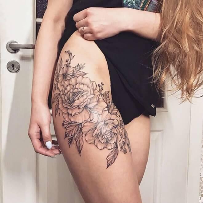 Hip Style Tattoo