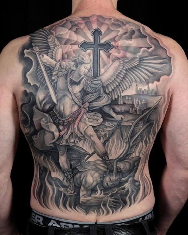 Incredible Michael Tattoo