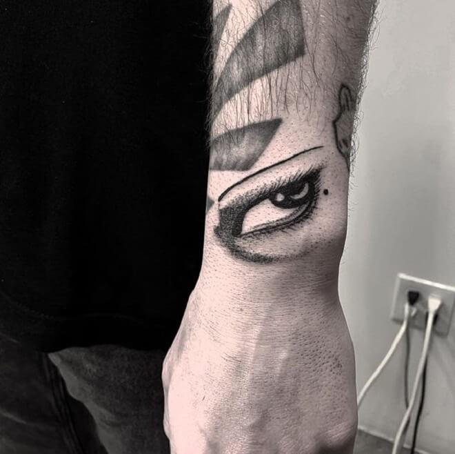 Lady Eye Tattoo