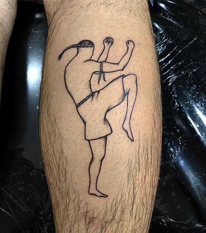 Line Sport Tattoo