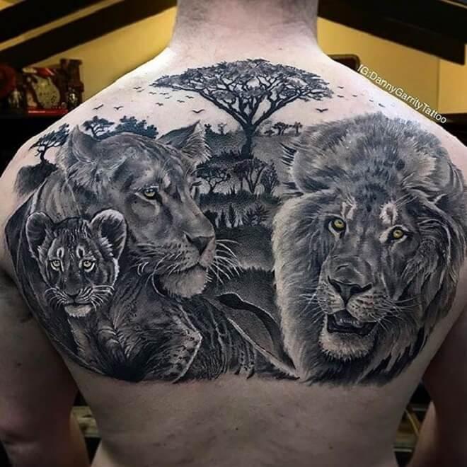 Lion Best Tattoo Designs