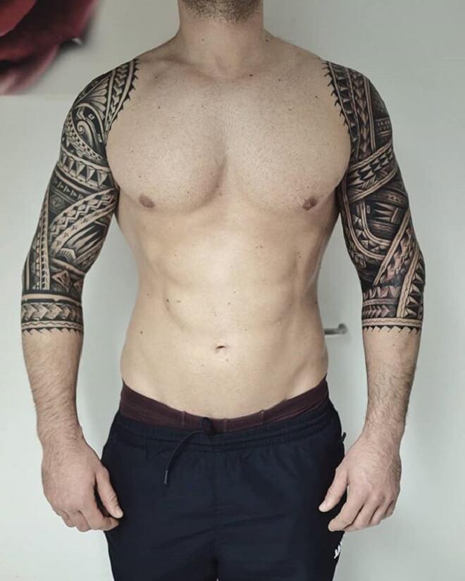 Maori Men Tattoo