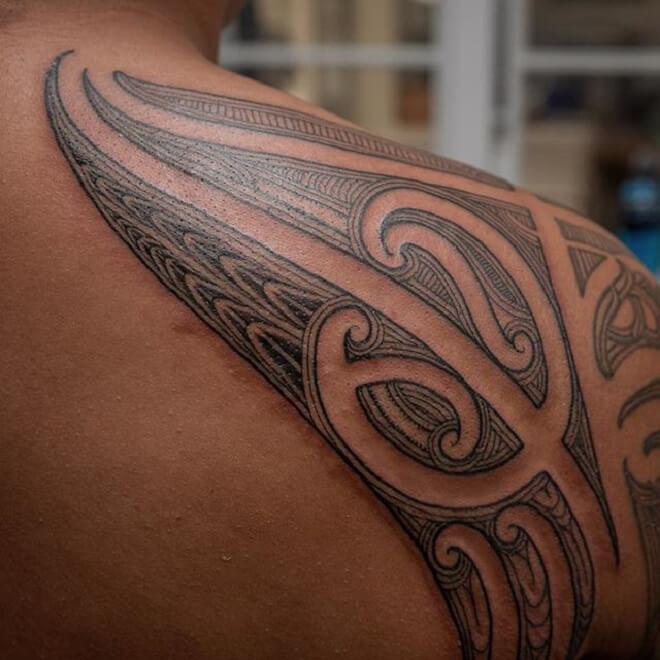 Maori Soldar Tattoo