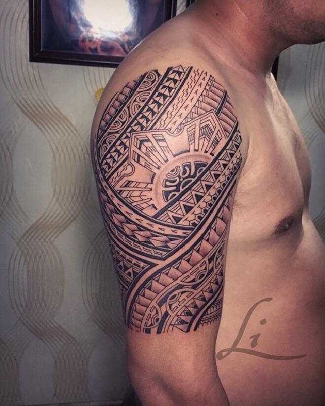 Maori Tattoo Men Style
