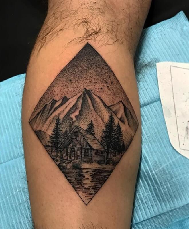 Mountain Tattoos for Men
