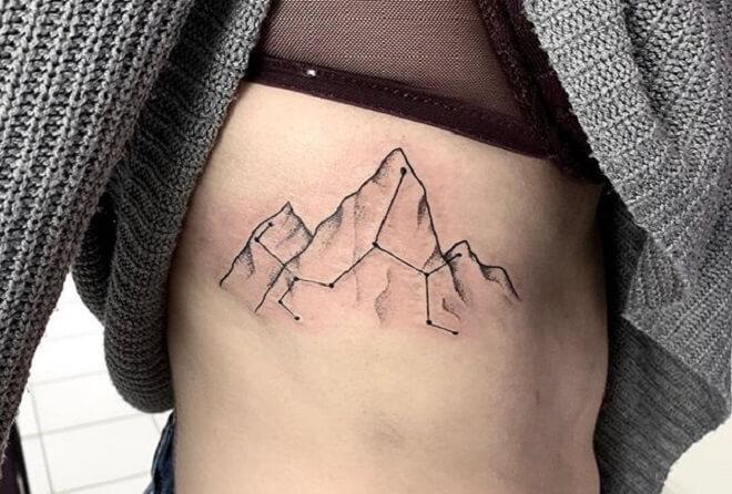 Mountain Tattoos for Women