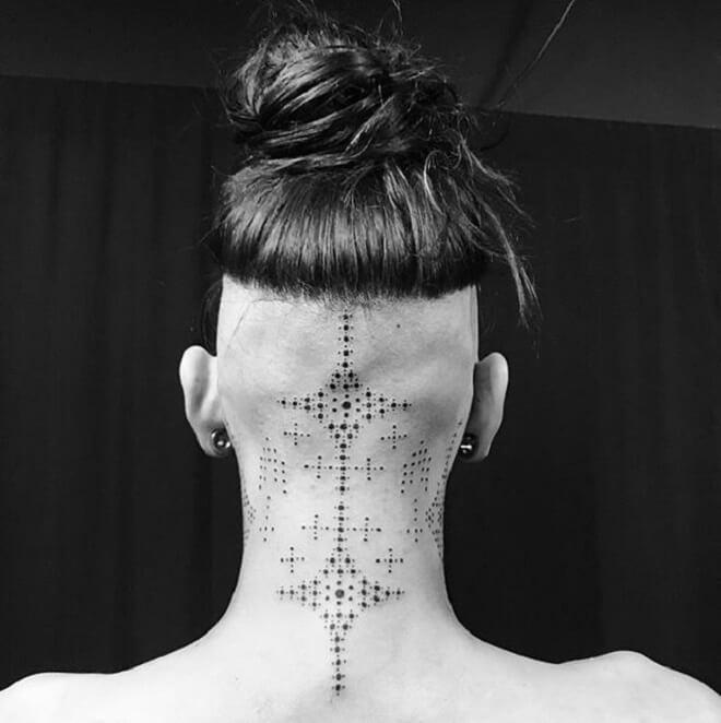 Neck Tattoos Designs