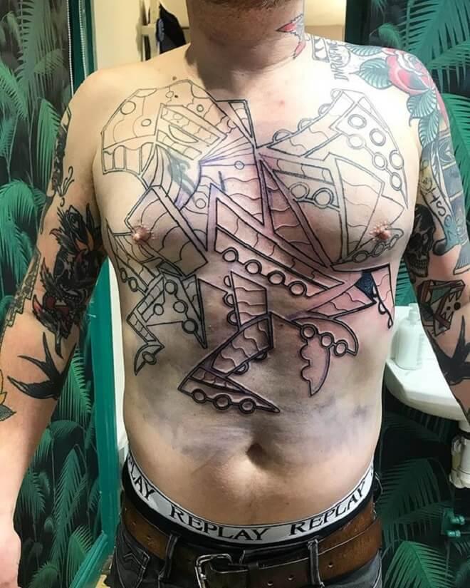 Octopus Men Designs Tattoo