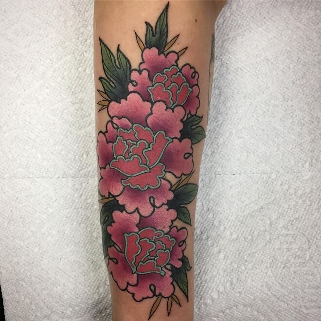 Pink Archive Tattoo