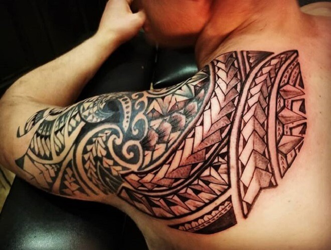 Polynesian Tattoo for Men